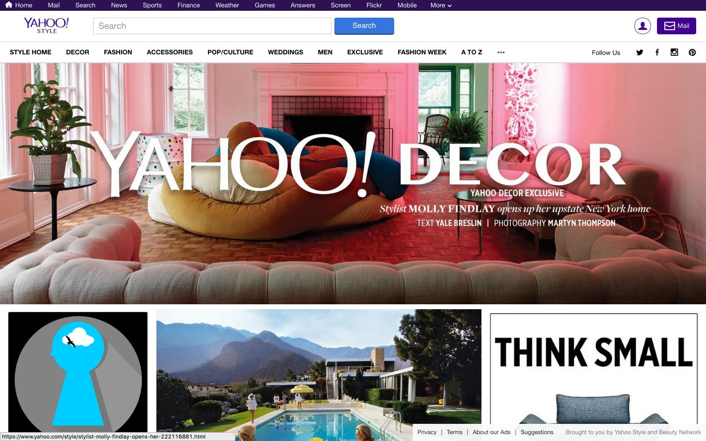 Yahoo! STYLEにDECOR が加わったのでボーっと眺めてみる