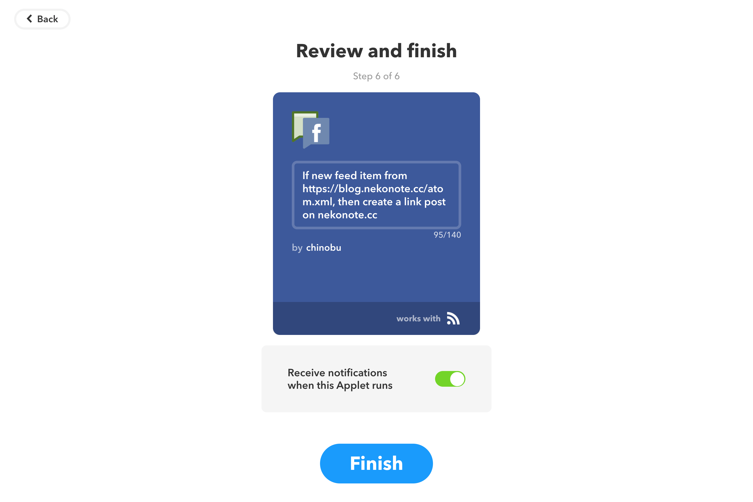 Review and finish